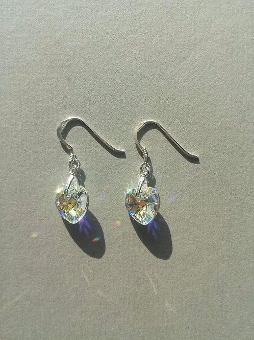 Aurora Borealis Swarovski Earrings