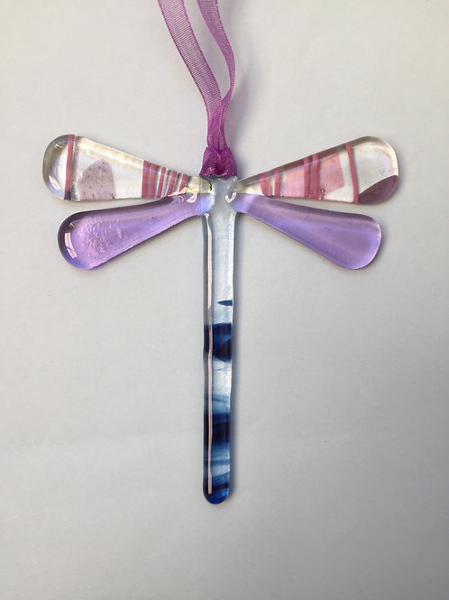 Fused Glass Dragonfly