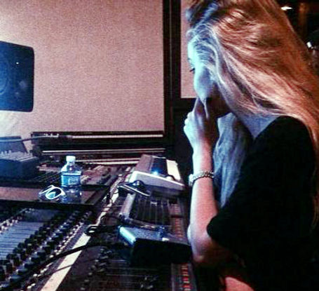 Danielle Bradbery in the Studio