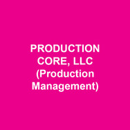 PRODUCTION CORE, LLC(Production Management) lends support and guidance to theatre companies that produce high quality theatrical performances and need direction/support on the collaboration, planning and execution of the production process. The Production Core team is James E. Cleveland, Jared Goldstein, David Upton, Ron Grimshaw, Maggie Davis, Chasmin Hallyburton, Julie Shelton, Amber Mathis, S.M. Payson, Leah Vogel, Esti Bernstein, Gayle Riess, Felicia Hall, Darielle Shandler, A.J. Jacobs, and Grace Richardson.www.productioncore.net
