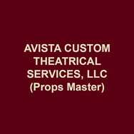 AVISTA CUSTOM THEATRICAL SERVICES, LLC(Props Master), owned by Jennifer Burkhart and Amanda Hatch, was founded in 2007 as a properties design and construction firm. Avista specializes in period paper goods and newspapers, custom prop construction, upholstery, soft goods construction, and maintains a 7,000 square foot rental warehouse in Norristown filled with props and lighting equipment. Avista's work has been seen at Delaware Theatre Co, Inis Nua Theatre, Flashpoint Theatre, Theatre Horizon, Mauckingbird, Theatre Exile, Bristol Riverside Theatre, Temple University, Burlington County College, Act II Playhouse, and Drexel University. Avista is the resident prop team at Azuka Theatre (8th season), 1812 Productions (5th season), and InterAct Theatre (7th season).