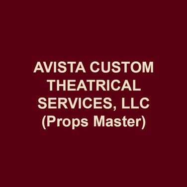 AVISTA CUSTOM THEATRICAL SERVICES, LLC (Props Master), owned by Jennifer Burkhart and Amanda Hatch, was founded in 2007 as a properties design and construction firm. Avista specializes in period paper goods and newspapers, custom prop construction, upholstery, soft goods construction, and maintains a 7,000 square foot rental warehouse in Norristown filled with props and lighting equipment. Avista's work has been seen at Delaware Theatre Co, Inis Nua Theatre, Flashpoint Theatre, Theatre Horizon, Mauckingbird, Theatre Exile, Bristol Riverside Theatre, Temple University, Burlington County College, Act II Playhouse, and Drexel University. Avista is the resident prop team at Azuka Theatre (8th season), 1812 Productions (5th season), and InterAct Theatre (7th season).