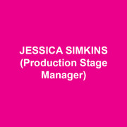 JESSICA SIMKINS (Production Stage Manager) is thrilled to be stage managing her 10th show at DTC. Other credits include 11th Hour Theatre Company, Actors Theatre of Kansas City, Amaryllis Theatre, Brat Productions, Gas and Electric Arts, Inis Nua Theatre, Kansas City Repertory Theatre, Montgomery Theatre, The New Theatre, San Jose Repertory Theatre and the Walnut Street Theatre.  Jessica also production manages locally and serves as the general manager for Inis Nua Theatre Company. Love to Dave and Daphne.