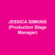 JESSICA SIMKINS(Production Stage Manager) is thrilled to be stage managing her 10th show at DTC. Other credits include 11th Hour Theatre Company, Actors Theatre of Kansas City, Amaryllis Theatre, Brat Productions, Gas and Electric Arts, Inis Nua Theatre, Kansas City Repertory Theatre, Montgomery Theatre, The New Theatre, San Jose Repertory Theatre and the Walnut Street Theatre. Jessica also production manages locally and serves as the general manager for Inis Nua Theatre Company. Love to Dave and Daphne.