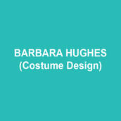 """BARBARA HUGHES (Costume Design), robed in a luscious black velour boatneck tee with three-quarter sleeves, darted her eyes swiftly at the dressmaker's mannequin in the corner of the costume shop.  """"Over twenty years I've been here, first as Costume Director for the University of Delaware's PTTP and then for Delaware's REP Theatre, and I've never noticed the way those broad muslin-covered shoulders make me tremble. Is it with fear, as I felt when I freelanced with companies such as the Colorado Shakespeare Festival, the Washington National Opera, Wolf Trap, Enchantment Theatre, and Opera Delaware?  Or—""""  she hesitated, toying with the brass-riveted belt loops encircling the high-waisted, Bacall-inspired trousers that just swept the tips of her toes, """"Is it with… dare I say it… pleasure?"""" The mannequin solidly returned her gaze, not moving its wheels, not daring to breathe. Barbara, confident as Slim, tossed her hair and ventured a conversation. """"Did you like my design work in the REP's From the Author Of this fall?""""  A whistle. Tee, in black, navy, or show-stopping red. Trousers in camel or grey seersucker."""