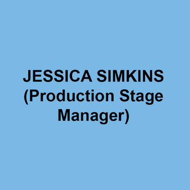 JESSICA SIMKINS (Production Stage Manager) is thrilled to be stage managing her 9th show at DTC. Other credits include 11th Hour Theatre Company, Actors Theatre of Kansas City, Amaryllis Theatre, Brat Productions, Gas and Electric Arts, Inis Nua Theatre, Kansas City Repertory Theatre, Montgomery Theatre, The New Theatre, San Jose Repertory Theatre and the Walnut Street Theatre.  Jessica also production manages locally and serves as the general manager for Inis Nua Theatre Company. Love to Dave and Daphne.