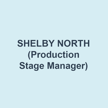 Shelby north (Production Stage Manager) Shelby is delighted to be back at Delaware Theatre Company! She is a Philadelphia-based stage manager whose previous credits include A Christmas Carol (Delaware Theatre Company); Antony and Cleopatra, Private Lives (Pennsylvania Shakespeare Festival); Bridges of Madison County (Philadelphia Theatre Company); Oliver! (Quintessence Theatre Group); Ghost (Alliance Theatre); Assassins, Father Comes Home from the Wars (Yale Repertory Theatre); The Petrified Forest, Church and State, Fiorello!, Constellations, Million Dollar Quartet (Berkshire Theatre Group). Shelby is a graduate of Yale School of Drama with an MFA in Stage Management. Love and thanks to Matt and her family!