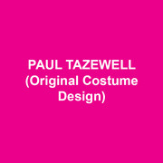 PAUL TAZEWELL (Original Costume Design) Broadway: SIDE SHOW; A STREETCAR NAMED DESIRE (Tony Award® nomination); JESUS CHRIST SUPERSTAR; MAGIC/BIRD; LOMBARDI; MEMPHIS (Tony Award® nomination); GUYS AND DOLLS; IN THE HEIGHTS (Tony Award® nomination); THE COLOR PURPLE (Tony Award® nomination); CAROLINE, OR CHANGE; THE MIRACLE WORKER; A RAISIN IN THE SUN; BRING IN 'DA NOISE... (Tony Award® nomination). DC area: Multiple shows at Arena Stage, Shakespeare Theatre; Kennedy Center: SIDE SHOW. Opera: The Met and English National: FAUST; Washington Opera, Chicago Lyric. San Francisco Opera, Houston Grand Opera: PORGY AND BESS; New York City Opera; LITTLE WOMEN; Awards: Three Helen Hayes Awards, Lucille Lortel, Jefferson, Princess Grace and Irene Sharaff Awards.