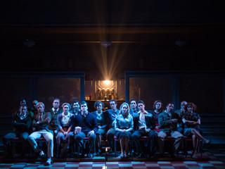Cast of DINER. Photo by Joe del Tufo, Mobius New Media.