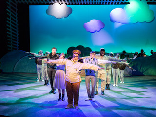 Christopher Sapienza and the Cast of Honk!  Photo by Matt Urban, NüPOINT Marketing.