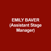 EMILY BAVER (Assistant Stage Manager) is thrilled to join DTC this season! Recent: Eternal Spring (Gelsey Kirkland Ballet), The Bishops, Thank You Notes and An Unexpected Thing Happens (Black Coffee Productions), First They Came For (Found Theater Company). Touring: Hamlet (WillPower) Regional: White (Theater Horizon) and Pennsylvania Shakespeare Festival (6 seasons) including: The Hound of the Baskervilles, Fiddler on the Roof, Troilus and Cressida, West Side Story and The Little Mermaid. Much love to God and family. Huge thanks to Ali and Maggie.