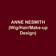 """ANNE NESMITH(Wig/Hair/Make-up Design) International: Saito Kinen Festival, Matsumoto, Japan, Hyogo Performing Arts Center, Nishinomiya, Japan. Regional: Kennedy Center for the Performing Arts, Arena Stage, Ford's Theatre, Shakespeare Theatre Company, Opera Philadelphia, Signature Theatre, Annapolis Opera, Castleton Music Festival, Everyman Theatre, Folger Shakespeare Theatre, Fort Worth Opera, Opera Boston, Wolftrap Opera, Woolley Mammoth Theatre, Washington Ballet, Baltimore Opera Company (Resident Wig/Makeup Designer); The Smithsonian National Portrait Gallery's Cultures in Motion Programs; US Army's tour SPIREIT OF AMERICA; """"Ice Cold Killers"""" on Investigation Discovery, The Military Channel's """"Great Planes""""; MD Public TV """"F.S. Key and the Song that Built America""""; Wig Construction: SCOOBY DOO LIVE! tour, 42ND STREET (Asian tour)"""