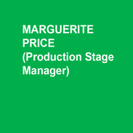 MARGUERITE PRICE is in her fifth season at DTC. Other recent regional credits include: Philadelphia Theatre Company, Peoples' Light, Asolo Repertory Theatre and PlayPenn New Play Conference. She proudly served ten seasons as the Production Stage Manager at Act II Playhouse. Margie is a grateful member of Actors' Equity Association and was its Philadelphia Liaison from May 2005 – January 2007. She is also a Past-Chair of the Stage Managers' Association.