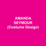 AMANDA SEYMOUR (Costume Design) Recent credits:  BARBER OF SEVILLE, Opera Theatre of St. Louis; MACBETH, The Public Theatre's Mobile Shakespeare Unit; PING PONG, The Public Theatre; LE PAUVRE MATELOT/ LES MAMELLES DE TIRESIAS, Wolf Trap Opera; THE RAGGED CLAWS, Cherry Lane Theatre; RUSALKA, Opera San Antonio; OLIVER!, Paper Mill Playhouse;  PAUL'S CASE, New York City Prototype Festival and Urban Arias, Arlington; DON PASQUALE, the Juilliard School; THE SOUND OF MUSIC, Paper Mill Playhouse; LYDIA, Yale Repertory Theatre. Associate credits: Madonna's Rebel Heart World Tour; THE CRIPPLE OF INISHMAAN, Broadway; EVITA, First National Tour; CHAPLIN THE MUSICAL, Broadway; UNCLE VANYA, Soho Rep. MFA: Yale School of Drama.