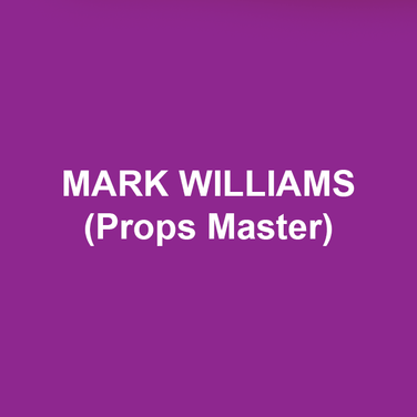 mark williams (Props Master) is a local Props Master and Puppeteer freelancing in the Philadelphia area. Mark has been working with DTC for the past 2 years, his first show with the company being The Complete Works of William Shakespeare (abridged) [Revised]. Other companies Mark works with include Opera Delaware, The Walnut Street Theatre, and Hangar Theatre Company. He would like to give special thanks to the wonderful and helpful production staff here at DTC.