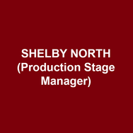 Shelby north (Production Stage Manager) is delighted to be making her Delaware Theatre Company debut! She is a Philadelphia based Stage Manager whose previous credits include Antony and Cleopatra, Private Lives (Pennsylvania Shakespeare Festival), Bridges of Madison County (Philadelphia Theatre Company), Oliver! (Quintessence Theatre Group), Ghost (Alliance Theatre), Assassins, Father Comes Home from the Wars (Yale Repertory Theatre), The Petrified Forest, Church and State, Fiorello!, Constellations, and Million Dollar Quartet (Berkshire Theatre Group). Shelby is a graduate of Yale School of Drama with an MFA in Stage Management. Love and thanks to Matt and her family!
