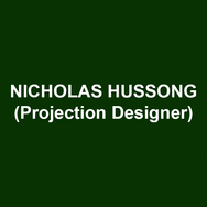 NICHOLAS HUSSONG (Projection Design) Off-Broadway: These Paper Bullets! (Drama Desk Nomination, Atlantic Theater Company, Geffen Playhouse, Yale Repertory Theatre); Until the Flood (Rattlestick Playwrights Theatre, Goodman Theatre, Milwaukee Repertory Theater, Repertory Theatre of St. Louis, ACT Seattle); White Guy on the Bus (59E59 Theaters, Delaware Theatre Company); Skeleton Crew (Atlantic Theater Company); Chix 6 (LaMama). Regional: Kleptocracy (Arena Stage); Grounded (Alley Theatre); Christmas Carol, A Gentlemen's Guide to Love and Murder, A Streetcar Named Desire (Le Petit Theatre du Vieux Carre); Two Trains Running (Arden Theater); The Mountaintop (PlayMakers Repertory Company); Ella (Delaware Theatre Company); Million Dollar Quartet (Berkshires Theatre Group) as well as productions with FEAST Listen&Breathe, Korean Expo, Marc Jacobs, Urban Bush Women, Esperanza Spaulding, Lantern Theater Company, Abrons Art Center, Tiny Dynamite, Premieres NYC, Ars Nova, Cantata Profana, Nashville Symphony, Hartford Symphony, and Summerworks Toronto. Nicholas was the Artistic Associate at Triad Stage in Greensboro, North Carolina where he continues to design new works based on Appalachian life written by Preston Lane. 70th & 71st Tony Awards (CBS). www.NewNeighborhood.com. www.Nickhussong.com.