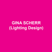 GINA SCHERR (Lighting Design) New York designs include productions at The Roundabout Underground, The Public, City Center, The Women's Project, The Kitchen, Merce Cunningham, Alvin Ailey, PS122, La MaMa, Clubbed Thumb, Ensemble Studio Theatre, and Company XIV. Regional credits include productions at Williamstown Theatre Festival, Actors Theatre of Louisville, The Old Globe, Milwaukee Rep, Asolo Rep, Two River Theatre Company, Weston Playhouse, Bucks County Playhouse and Yale Rep. Gina is a member of Wingspace Theatrical Design. MFA: Yale School of Drama.