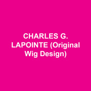 CHARLES G. LAPOINTE (Original Wig Design) Broadway: OF MICE AND MEN, SIDE SHOW, HONEYMOON IN VEGAS, PIECE OF MY HEART, THE ELEPHANT MAN, RADIO GOLF, THE RADIO CITY SPECTACULAR, THE PERFORMERS, THE APPLE TREE, AFTER MIDNIGHT, BEAUTIFUL, GENTLEMAN'S GUIDE TO LOVE & MURDER. SOULD DOCTOR, MOTOWN, JEKYLL AND HYDE, CLYBOURNE PARK, BRING IT ON, NEWSIES, THE COLUMNIST, MAGIC/BIRD, BONNIE AND CLYDE, THE MOUNTAINTOP, WOMEN ON THE VERGE OF A NERVOUS BREAKDOWN, MERCHANT OF VENICE, MEMPHIS, HENRY IV, CYMBELINE, LOMBARDI, FENCES, LOOPED, MIRACLE WORKER, SUPERIOR DONUTS, 33 VARIATIONS, GUYS AND DOLLS, IN THE HEIGHTS, JERSEY BOYS, THE COLOR PURPLE, MARTIN SHORT: FAME BECOMES ME. London: JERSEY BOYS, MEMPHIS.