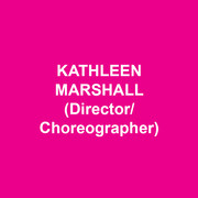 "KATHLEEN MARSHALL (Director/Choreographer) Broadway: LIVING ON LOVE, NICE WORK IF YOU CAN GET IT, ANYTHING GOES, THE PAJAMA GAME, WONDERFUL TOWN, GREASE, LITTLE SHOP OF HORRORS, FOLLIES, SEUSSICAL, KISS ME, KATE, 1776 and SWINGING ON A STAR.  Off-Broadway/Regional: TWO GENTLEMEN OF VERONA (NYSF), SATURDAY NIGHT (Second Stage), EVER AFTER (Paper Mill Playhouse); DINER (Signature Theatre); THE UNSINKABLE MOLLY BROWN (Denver Center Theatre). City Center Encores!: THE BAND WAGON, I'M GETTING MY ACT TOGETHER…, BELLS ARE RINGING, CARNIVAL, BABES IN ARMS, among others; Artistic Director for four seasons. Film:  ""My Week with Marilyn"" (choreographer).  TV: ""Once Upon a Mattress"", ""The Music Man"" (Emmy nomination). She has received three Tony Awards (out of nine nominations), three Drama Desk Awards, three Outer Critics Circle Awards, the Astaire Award and the George Abbott Award. With love to Scott, Nathaniel and Ella. For Victoria."