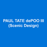 PAUL TATE dePOO III (Scenic Design) Titanic (Broadway); The War of the Roses, White Guy on the Bus  (DTC); The Music Man, Thoroughly Modern Millie, A Sign of the Times, and Guys and Dolls (Goodspeed Opera); Grand Hotel, Titanic, A Little Night Music, Crazy for You (Signature);  Cosi Fan Tutte (Santa Fe Opera); Demon, Turandot (Bard Opera); Trouble In Tahiti (Boston Lyric Opera); Alcina and Orlando (White Box Gallery); Don Giovanni, Doctor Atomic and Impressions of Pelléas (Curtis Opera); Bridges of Madison County (Philadelphia Theatre Company); Evita and Josephine (Asolo Rep);  Centennial Opening Ceremony, Singing In the Rain, Jersey Boys, The Unsinkable Molly Brown, Jesus Christ Superstar, Young Frankenstein (MUNY); The Rocky Horror Show (Yale Theatre), www.pauldepoo.com