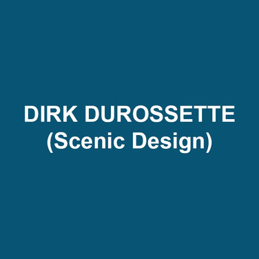 DIRK DUROSSETTE (Scenic Design) Off-Broadway scene designs include: The Outgoing Tide and Any Given Monday. He has designed for Amaryllis Theater Company, Azuka Theater (Skin and Bone - Barrymore Nomination), Act II Playhouse (Any Given Monday - World Premiere), Enchantment Theater Company (National Tour - Harold and the Purple Crayon), Theater Exile, 1812 Productions, Delaware Theatre Company, EgoPo Classic Theatre, Freedom Theater, InterAct Theater Company, Lantern Theater (Skylight - Barrymore Nomination), Theater Horizon, Opera Maine, Philadelphia Shakespeare Theater, Temple Theaters, Temple Opera Theater, University of the Arts, and University of Memphis. He is a full-time faculty member at Rowan University.