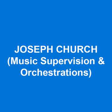 JOSEPH CHURCH (Music Supervision & Orchestrations) is best known for his music direction and arrangements for two groundbreaking Broadway musicals, The Lion King and The Who's Tommy. Among his other Broadway and Off-Broadway credits are Amazing Grace, Sister Act, In The Heights, Little Shop of Horrors, and Radio City's Christmas Spectacular. Orchestrations include Steven Lutvak's Almost September, The 60s Project and A Sign of the Times at Goodspeed Opera House, and recent re-orchestrations of two classic musicals, The Rothschilds and Rex. Joseph's book, Music Direction for the Stage: A View from the Podium, is published by Oxford University Press. www.churchmuse.com viewfromthepodium.com