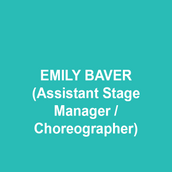 """EMILY BAVER (Assistant Stage Manager/Choreographer) is thrilled to be joining TCWOWS[A](R) as the Assistant Silliness Master! She is a World Champion kazoo player, winning the title in 2010 with a beautiful, yet haunting rendition of Hot Cross Buns. Emily discovered her passion for moving objects at an early age. She was recently, well, """"not"""" seen as the PSM for Gelsey Kirkland Ballet, an ASM on the World Premiere of White (Theatre Horizon) and Something Wicked (DTC), and has proudly given her soul to the Pennsylvania Shakespeare Festival. Much love to God, family and Annie. This one's for sweet pea!"""