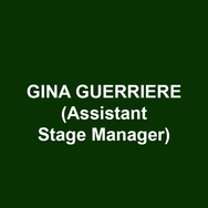 Gina Guerriere (Assistant Stage Manager) is a graduate of Point Park University in Pittsburgh, PA. She is extremely excited to be working on her fourth production at DTC. Her credits include: Studio 3 Stage Management Apprentice at The Walnut Street Theatre (Souvenir, It's A Wonderful Life: A Live Radio Play, Baskerville, A Steady Rain, Tell Me on a Sunday) and 1st Assistant Stage Manager at Timber Lake Playhouse (Gypsy, Having Our Say, A Funny Thing Happened on the Way to the Forum, Rock of Ages, Titanic: The Musical, The Three Little Pigs, Gaslight).
