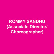"""ROMMY SANDHU(Associate Director/Choreographer) Associate: Denver Center's UNSINKABLE MOLLY BROWN (Dir. Kathleen Marshall), LITTLE SHOP OF HORRORS (w/ Ellen Greene, Jake Gyllenhaal), BELLS ARE RINGING, APPLAUSE, ADVENTURES OF TOM SAWYER, FASCINATIN' RHYTHM, YESTON'S HANS CHRISTIAN ANDERSON. Director/Choreographer: BROADWAY CARES, MAKEMINEMANHATTAN, HOWNOWDOWJONES. Regionally: MARY POPPINS, SISTER ACT, RAGTIME, PAJAMA GAME, SINGING…RAIN. Broadway Performing: MARY POPPINS, ZORBA, BOMBAY DREAMS, OKLAHOMA!, ON THE TOWN, THE LIFE, SWEET CHARITY IN CONCERT, A CHRISTMAS CAROL, SONDHEIM75, ANNIE GET YOUR GUN. Tours: CAROUSEL, KISS ME KATE, EVITA, DREAM GIRLS (w/ Jennifer Holliday). Television """"SMASH,"""" """"Tony Awards,"""" """"Macy's Thanksgiving Parade,"""" """"Today Show,"""" """"Live with Regis..Kelly,"""" """"The View."""" Faculty: Marymount Manhattan College, ONSTAGENY. Proud Father of Three and Husband to One.www.RommySandhu.comtwitter: @newrom"""