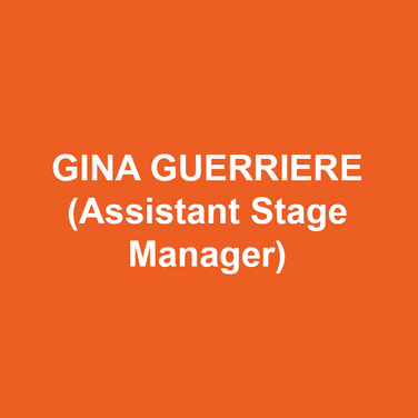 Gina Guerriere (Assistant Stage Manager) is a graduate of Point Park University in Pittsburgh, PA. She is extremely excited to be working on her fifth production at DTC. Her credits include: Studio 3 Stage Management Apprentice at The Walnut Street Theatre (Souvenir, It's A Wonderful Life: A Live Radio Play, Baskerville, A Steady Rain, Tell Me on a Sunday) and 1st Assistant Stage Manager at Timber Lake Playhouse (Gypsy, Having Our Say, A Funny Thing Happened on the Way to the Forum, Rock of Ages, Titanic: The Musical, The Three Little Pigs, Gaslight).