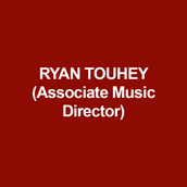 RYAN TOUHEY (Associate Music Director) DTC: Sheryl Crow's Diner and Hetty Feather. NYC: The Cher Show, Dreamgirls, Atomic, Liz Swados' Nightclub Cantata. Worked on Rock & Roll Hall of Fame singer Darlene Love's new album Introducing Darlene Love produced by E Street Band guitarist Steve Van Zandt and Columbia Records. REGIONAL: Mother Courage at Arena Stage starring Kathleen Turner. Gypsy, The Secret Garden, Parade, Passion at Arden Theatre Company. All the King's Men directed by Trinity Rep founder Adrian Hall. Ragtime, Little Shop of Horrors at Bristol Riverside Theatre. Spelling Bee at Theatre Horizon. RENT at 11th Hour Theatre Company. Threepenny Opera, To Kill A Mockingbird with the Resident Ensemble Players. The Uncivil War at Adirondack Theatre Festival. Ryan is a six-time Barrymore Award- nominee in Philadelphia and an AUDELCO Award Winner in New York City. Training: B.F.A. in Musical Theatre, University of the Arts.