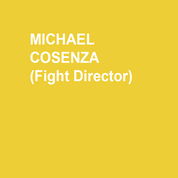 MICHAEL COSENZA (Fight Director) is very happy to be back at the Delaware Theatre Company. Last season he had a great time working on THE EXPLORERS CLUB. Recently, Michael's work as a fight director has been seen in Tribe of Fools' ANTIHERO! THE INVISIBLE HAND at Theatre Exile, and MACBETH at The Philadelphia Shakespeare Theatre. Upcoming projects include WHITE DEVIL with the Philadelphia Artist's Collective. Thanks to Bud for this opportunity, the actors for all their hard work, and of course, Natalie for her love and support.