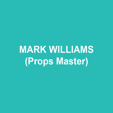 MARK WILLIAMS (Props Master) is a local Props Master and Puppeteer freelancing in the Philadelphia area. An alumni of Rowan University and the Walnut Street Theatre Apprenticeship, he thought he would be touring the country and dating Kristin Chenoweth by this point in his career. Instead he's building puppets in his mom's basement and getting haunted by the ghost of Jim Henson, despite Mark insisting that he does not plagiarize him. He would like to thank his friends, colleagues, and all the actors for not breaking the props.