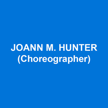 JOANN M. HUNTER (Choreographer) has 20 Broadway shows to her credit as a Choreographer, Associate Choreographer, and Performer. Choreography: Broadway –School Of Rock (B'way, US Nat't Tour and West End, Australia), Disaster, On A Clear Day You Can See Forever, Broadway Bound.Off Broadway –Rock and Roll Refugee,Dedalus Lounge,The Twelve(workshop). National Tour/Regional: World Premiere of Beatsville (Asolo Rep) by Glenn Slater,A Sign Of The Times (Goodspeed)by Bruce Vilanch,Harmony (Ahmanson Theatre)by Barry Manilow and Bruce Sussman, World Premiere of Marvin Hamlisch and Rupert Holmes'The Nutty Professordirected by Jerry Lewis.Pump Boys and Dinettes, Grease, Oliver, & Curtainsall at(PMP), Nat'l tour ofChitty Chitty Bang Bang.  She has directed Debra Monk in her one woman show with special guest Ron Rifkin, Andrea Martin, Victor Garber, and David Hyde Pierce. Indevelopment, Lourds Lane superhero rock musical Chix6 and PerfectSpiral, conceived by JoAnn, follows a high school footfall player and his coming to terms with CTE along with his physical and mental loss of identity. Associate Broadway Choreographer:Spring Awakening, Curtains, The Wedding Singer, All Shook Up.As a performer: Thoroughly Modern Millie, Thou Shalt Not, Kiss Me Kate, Chicago, A Funny Thing Happened…,Steel Pier, How To Succeed…, Damn Yankees, Guys And Dolls, Miss Saigon, Shogun The Musical, Jerome Robbins Broadway.