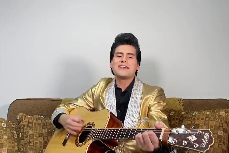 Elvis Presley (Taylor Rodriguez) - That's Alright Mama