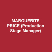 MARGUERITE PRICE(Production Stage Manager) is in her fourth season at DTC. Other recent regional credits: Ghosts, Fences at Peoples'Light & Theatre Company, Woody Sez at PLTC and Asolo Repertory Theatre and PlayPenn New Play Conference. She proudly served ten seasons as the Production Stage Manager at Act II Playhouse where she stage managed Mr. Robson's play, Playing the Assassin. Margie is a member of Actors' Equity Association and was its Philadelphia Liaison from May 2005 – January 2007. She is also a Past-Chair of the Stage Managers' Association (www.stagemanagers.org).