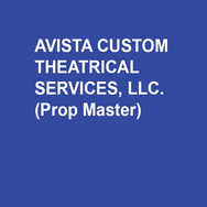 Avista Custom Theatrical Services, LLC (Props Master), owned by Jennifer Burkhart and Amanda Hatch, was founded in 2007 as a properties design and construction firm. Avista specializes in period paper goods and newspapers, custom prop construction, upholstery, soft goods construction, and maintains a 7,000 square foot rental warehouse in Norristown. This season Avista will be working with Opera Philadelphia, Azuka Theatre, 1812 Productions, InterAct Theatre, Delaware Theatre Co, Inis Nua Theatre, Mauckingbird, Temple University, and Drexel University.