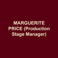 MARGUERITE PRICE(Production Stage Manager) is in her fourth season at DTC. This production marks her fifteenth with Bud Martin. Other recent regional credits include: Peoples' Light, Asolo Repertory Theatre and PlayPenn New Play Conference. She was privileged to spend ten seasons as the Production Stage Manager at Act II Playhouse. Margie is a proud member of Actors' Equity Association and was its Philadelphia Liaison from May 2005 – January 2007. She is also a Past-Chair of the Stage Managers' Association.