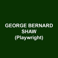 GEORGE BERNARD SHAW (Playwright) Plays: Widower's House, Mrs. Warren's, Arms and the Man, The Man of Destiny, Man and Superman, Caesar and Cleopatra, Androcles and the Lion, Major Barbara, The Doctor's Dilemma, Candida, and Pygmalion. Written in 1923, Saint Joan is considered his masterpiece. In 1925, he was awarded the Nobel Prize in Literature. Shaw's complete works appeared in 36 volumes between 1930 and 1950.