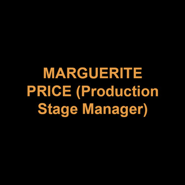MARGUERITE PRICE (Production Stage Manager) is in her fourth season at DTC. Margie has recently stage managed at Peoples' Light, Asolo Repertory Theatre and PlayPenn New Play Conference. She proudly served ten seasons as the Production Stage Manager at Act II Playhouse. Margie is a member of Actors' Equity Association and was its Philadelphia Liaison from May 2005 – January 2007.  She is also a Past-Chair of the Stage Managers' Association (www.stagemanagers.org).