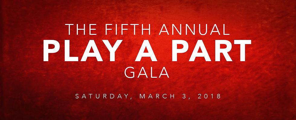 Play a Part Gala Header