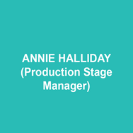 ANNIE HALLIDAY (Production Stage Manager) has been reminding actors where to stand and what to say when they get there at various theater companies in the Philadelphia area, including Hello Blackout! (New Paradise Laboratories) Rizzo, Having Our Say, Hand to God (Philadelphia Theatre Company) Two Gentlemen of Verona (Shakespeare in Clark Park). Annie has terrific pencil sharpening skills and really knows how to tell time. Analog. Digital. Doesn't matter. BFA University of the Arts. Thank you to Emily, the cast, crew, and staff of Complete Works. Love to Jay.
