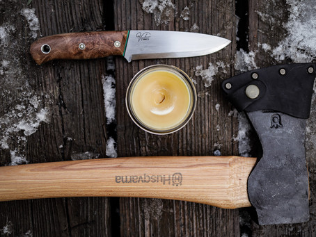 DIY Tool Paste-Wax (Knife and Axe Protection)