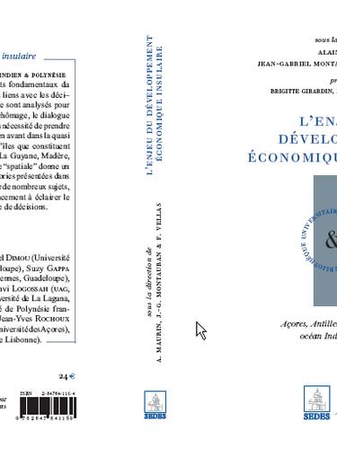 L'enjeu du développement économique insulaire : les régions ultra-périphériques de l'union européenne et les TOM