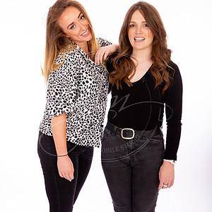 Comedians Emma Doran & Julie Ja