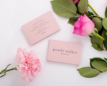 Pearle Walker Business Cards