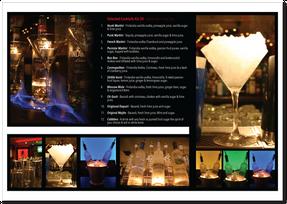 Noobar Cocktail Menu