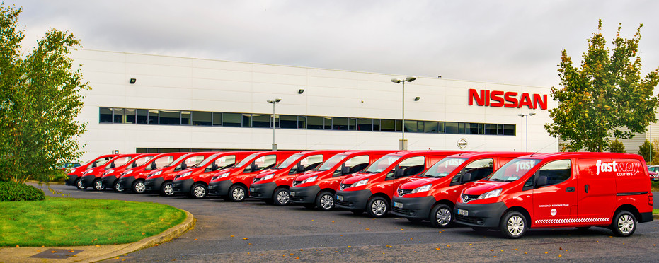 Fastway Couriers & Nissan Ireland