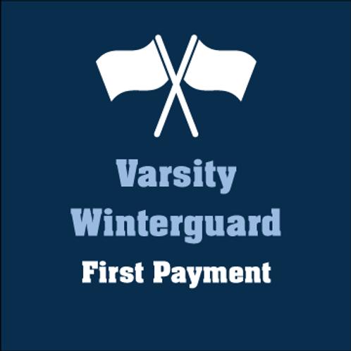 Varsity Winterguard 1st Payment